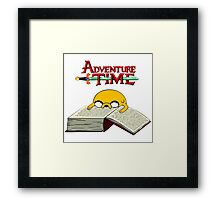 Adventure Time To Study Framed Print