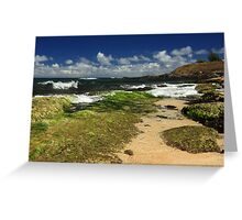 Ho'okipa Beach Maui Greeting Card