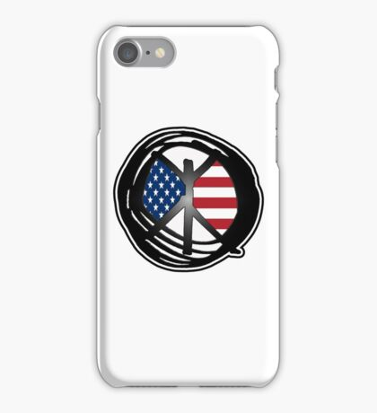 american peace iPhone Case/Skin