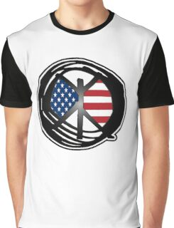 american peace Graphic T-Shirt