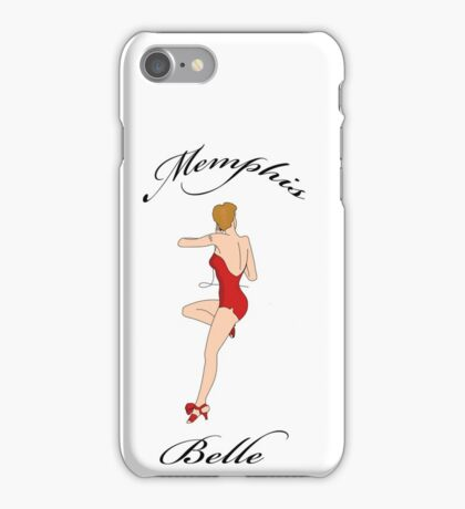 Memphis Belle...the beautiful Lady herself! iPhone Case/Skin