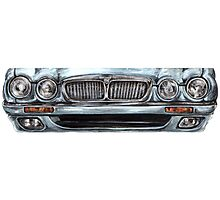 Jaguar X300 Sport Front End Photographic Print
