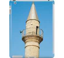 A mosque and turret in old Akko.  iPad Case/Skin