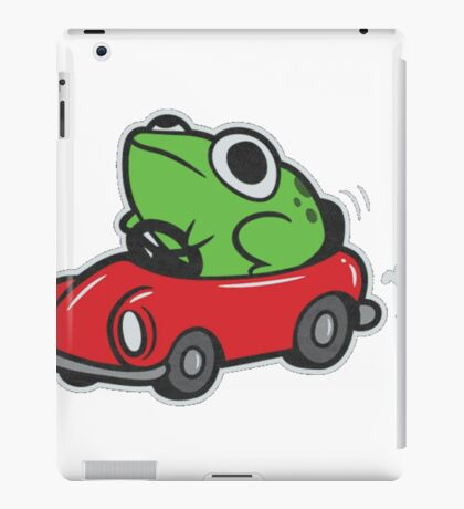MOTHER 3 FROG IN A CAR - earthbound iPad Case/Skin