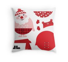 New! St. Claus designers fashion and interior items Throw Pillow