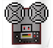 Reel-To-Reel Tape Recorder Poster
