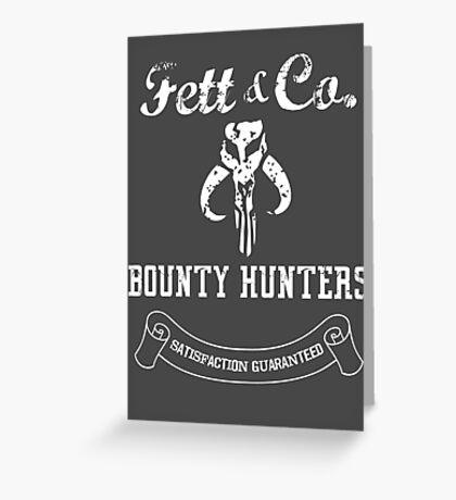 Fett & Company - Bounty Hunters Greeting Card