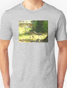 Curlews and young at Wonga Beach, North  Queenland Unisex T-Shirt
