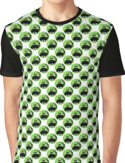 Cartoon seamless pattern with cute black cats Graphic T-Shirt