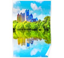 City In The Trees - Atlanta Midtown Skyline Poster