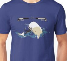 Achab and Moby Unisex T-Shirt
