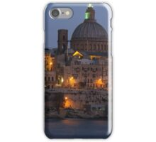 Valletta at Night iPhone Case/Skin