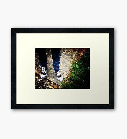 BJD lomography Framed Print