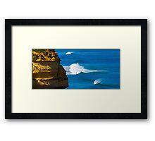 Great Ocean Road Surfers Framed Print