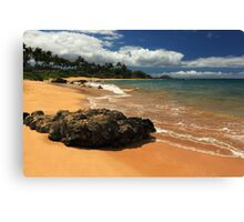Mokapu Beach Maui Canvas Print