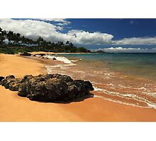 Mokapu Beach Maui Photographic Print