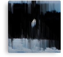 Floating in the Abyss Canvas Print