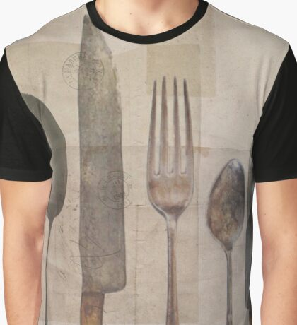 Vintage Cutlery Graphic T-Shirt