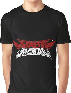 Babymetal - Logo en blanco y rojo Graphic T-Shirt