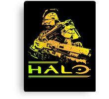 Halo - Gold Canvas Print