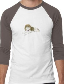 "Wonder Dog ""Blossom"" Men's Baseball ¾ T-Shirt"