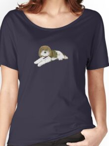 """Wonder Dog """"Blossom"""" Women's Relaxed Fit T-Shirt"""