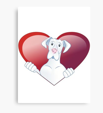 Valentine's Dane - Always In My Heart Canvas Print
