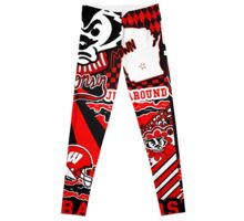 Wisconsin Doodle Collage Leggings