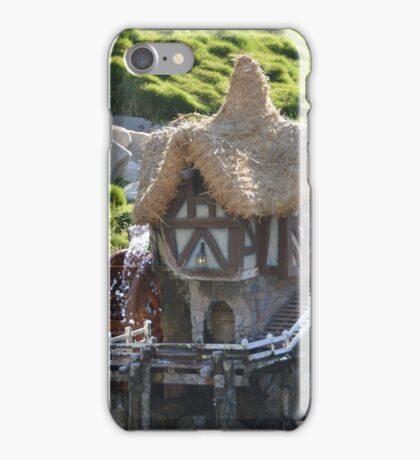 Cottage A Quaint Resting Home Holiday House iPhone Case/Skin
