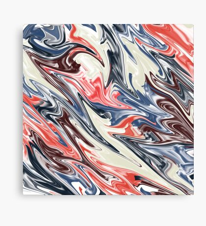 Abstract pattern171 Canvas Print