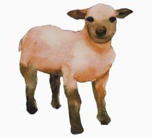 Sweet Little Lamb One Piece - Short Sleeve