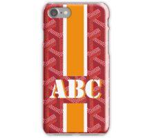 goyard monogram red iPhone Case/Skin