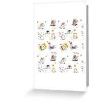 Fluffy Hamster Greeting Card