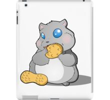 Hamster stuffing his face iPad Case/Skin