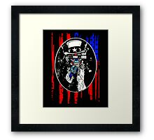 God Save Us All Framed Print