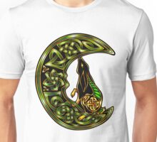 Black Celtic Hare Unisex T-Shirt