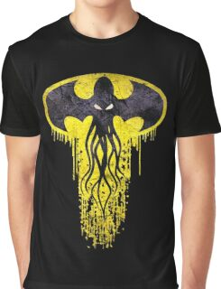 Lovecraft Bat Cthulhu Graphic T-Shirt
