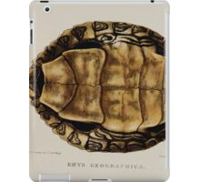 Tortoises terrapins and turtles drawn from life by James de Carle Sowerby and Edward Lear 039 iPad Case/Skin