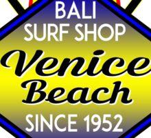 Surfer VENICE BEACH California Surfing Surfboard Ocean Beach Vacation 2 Sticker