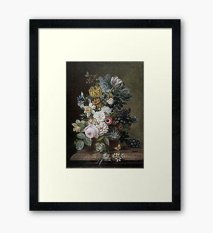 STILL LIFE FLOWERS  Framed Print