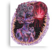 Moon Monster Canvas Print