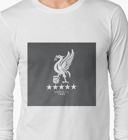 Liverpool Flat Design#2 Long Sleeve T-Shirt