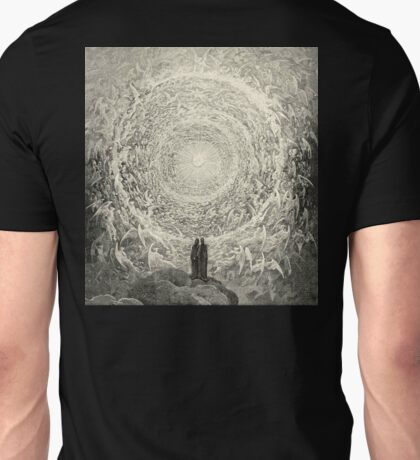 Dante, Heaven, Heavenly, The Divine Comedy, Gustave Doré, Highest, Heaven Unisex T-Shirt