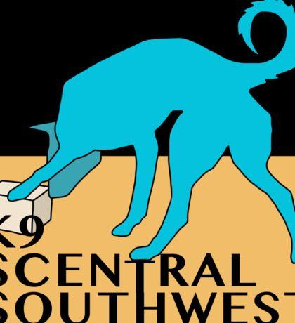 K9 Central Southwest Logo Sticker