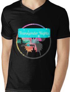 Transgender Rights Are Human Rights - Blue Mens V-Neck T-Shirt