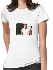 My Kind Of Man (Keanu Reeves Portrait) Womens Fitted T-Shirt