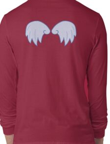 Light Blue Wings Long Sleeve T-Shirt