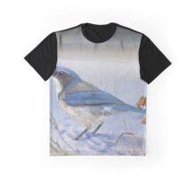 ranchland scrub jay Graphic T-Shirt