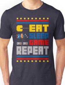 Eat. Sleep. Game. Repeat. Unisex T-Shirt