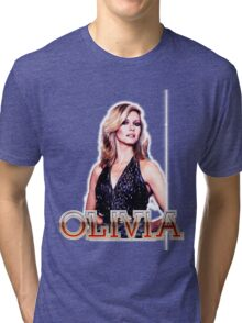 OLIVIA NEWTON-JOHN - XANADU - MAGIC Tri-blend T-Shirt